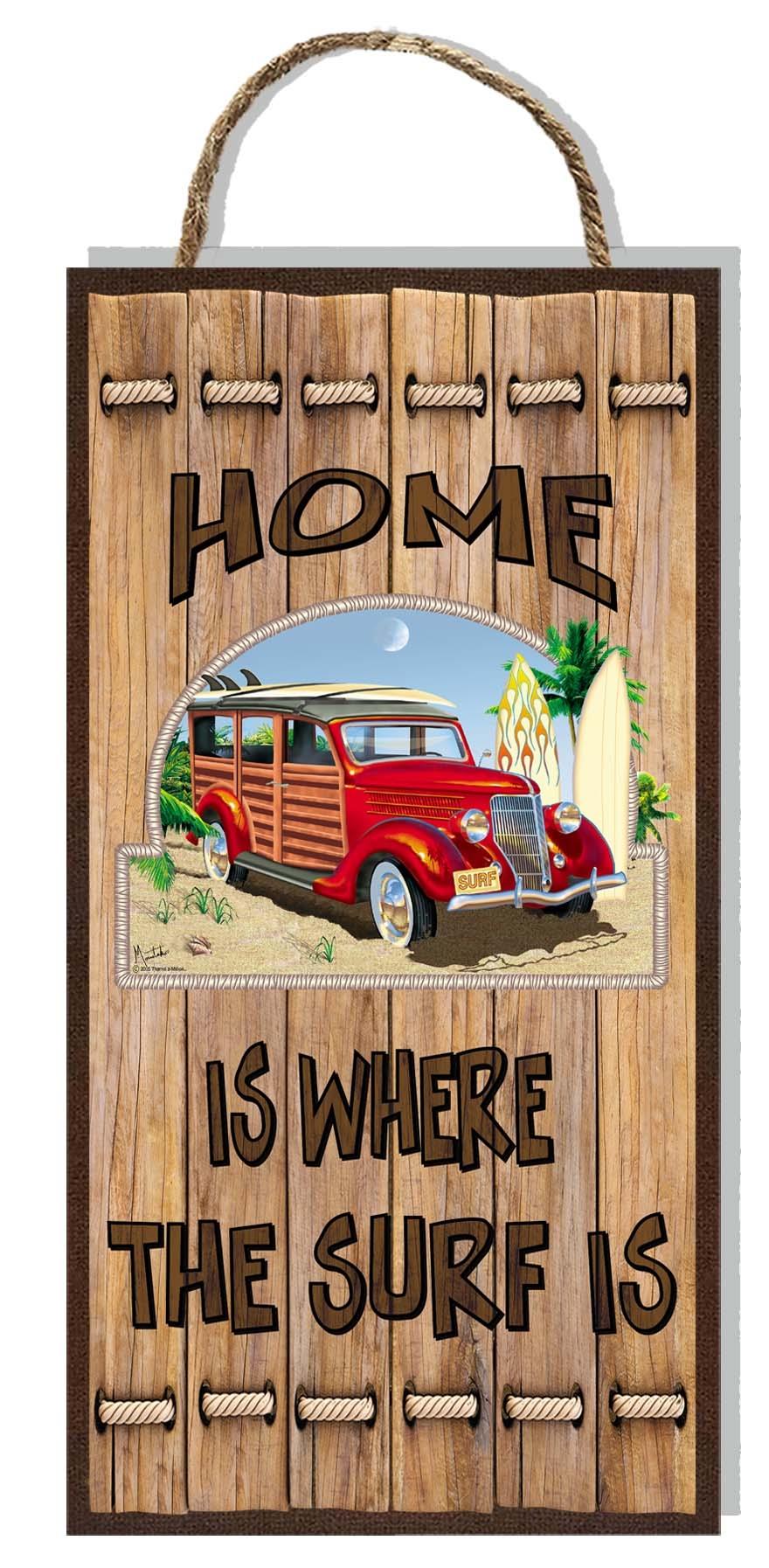 Woody Wooden Plaque