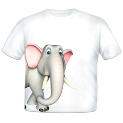 Elephant Sidekick Toddler T-shirt