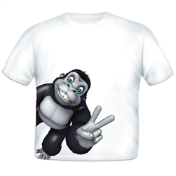 Gorilla Sidekick Toddler T-shirt