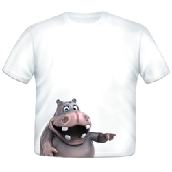 Hippo Sidekick Toddler T-shirt