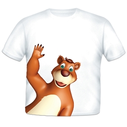 Bear Sidekick Toddler T-shirt
