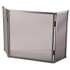 Standard Triple Panel Fire Screen