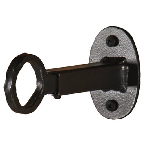 single curtain rod bracket