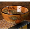 Pictured here is the Mercato Dessert Bowl 4-pack by Bella Toscana