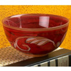 Wrought Iron Glass Dessert Bowl - Painted 4-pack by Bella Toscana