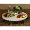 Wrought Iron Marble Lazy Susan - Grand by Bella Toscana