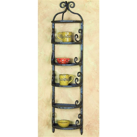 Pictured here is the Siena Wall Rack by Bella Toscana