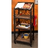 Pictured here is the Wrought Iron Siena Floor Cookbook Holder by Bella Toscana