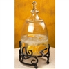 Pictured here is the Wrought Iron Siena Beverage Server 3 Gal by Bella Toscana