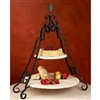 Pictured here is the Wrought Iron Siena Event Server by Bella Toscana