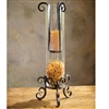 Pictured here is the Wrought Iron Siena Floating Candle Holder by Bella Toscana