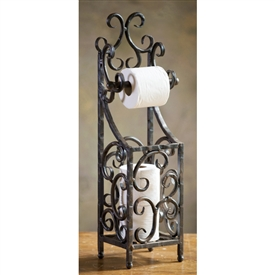 Wrought Iron Siena Toilet Paper Holder by Bella Toscana