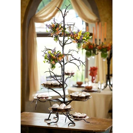 Twig 6 Plate Cupcake Server by Bella Toscana