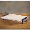 "Pictured here is the Siena 2 Handle 14"" Rectangle Server by Bella Toscana"