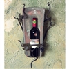 Pictured here is the Wrought Iron Tile Wall Wine Holder - 1 Bottle