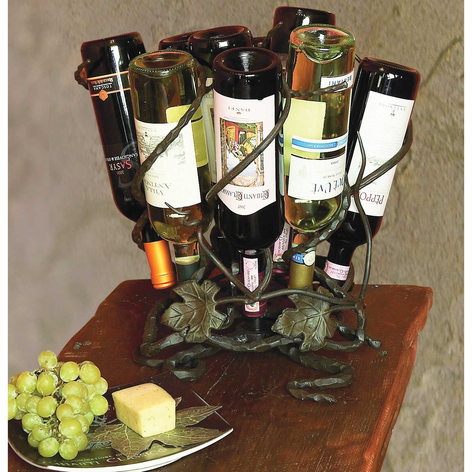 Pictured Here Is The Wrought Iron Wine Lazy Susan