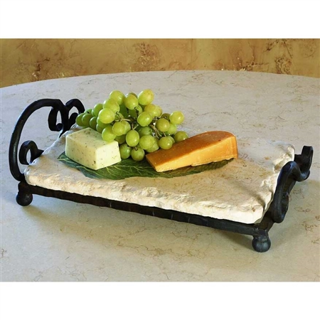 Pictured here is the Siena Marble Server by Bella Toscana