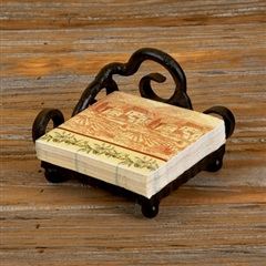Wrought Iron Siena Cocktail Napkin Holder by Bella Toscana