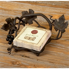 Wrought Iron Cocktail Napkin Holder by Bella Toscana