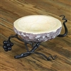 Pictured here is the Vineyard Marble Bowl Server by Bella Toscana