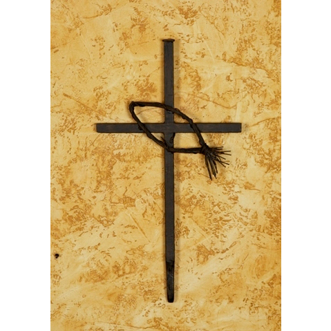 Wrought Iron Fish Wall Cross Large By Bella Toscana