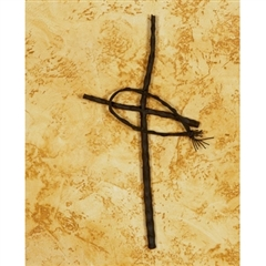 Wrought Iron Fish Wall Cross - Small by Bella Toscana