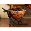 Wrought Iron Bowl Server - Olive by Bella Toscana