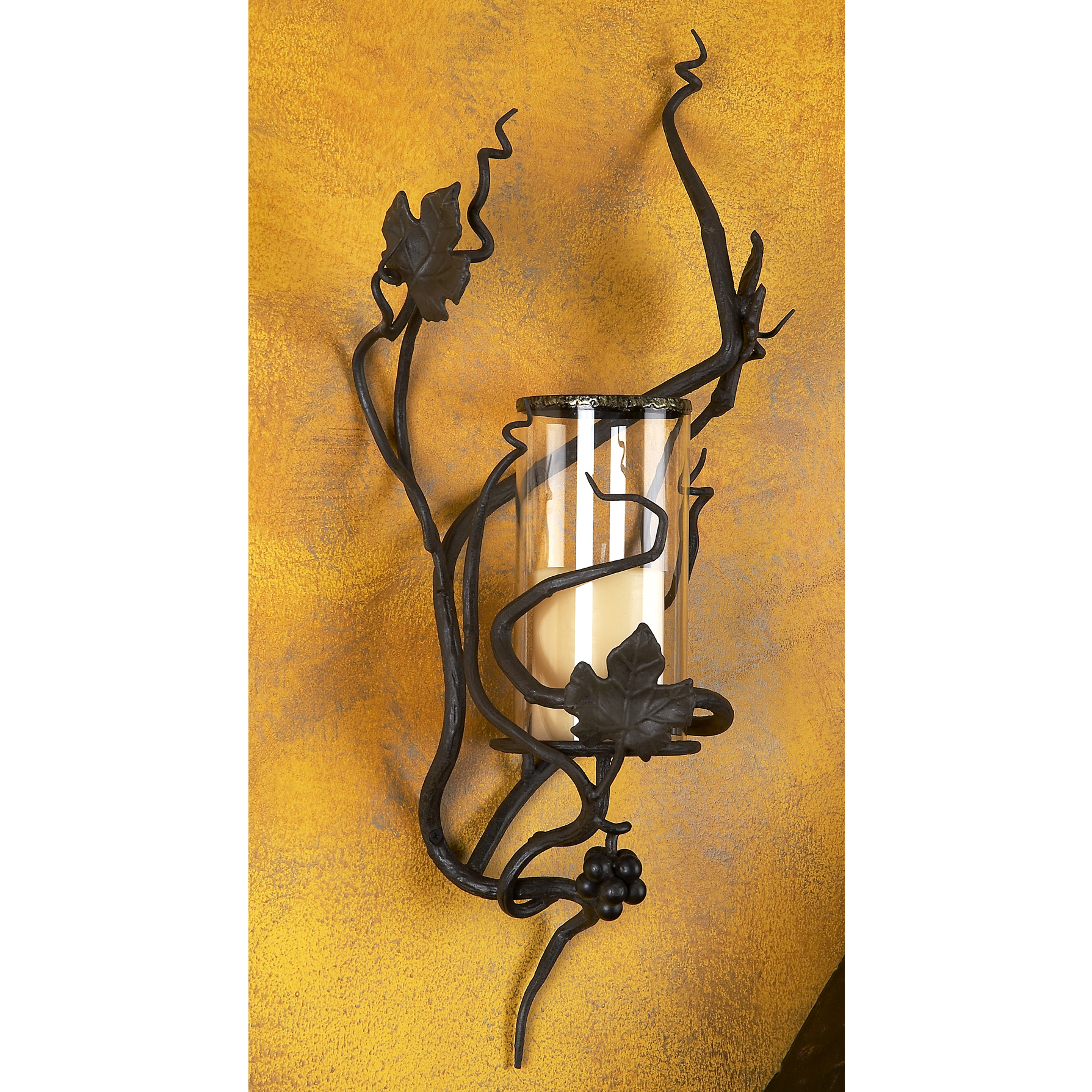 iron retro wrought one glass sconces light shade sconce wall and p