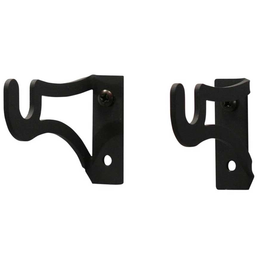 Pictured Here Is A Set Of 3x2 Inch Curtain Rod Brackets That Hold 1/2