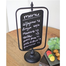 Pictured here is the Table Top Swivel Chalkboard Sign