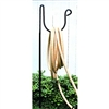 "Pictured here is the Stand Alone Wrought Iron Hose Holder that measures 54"" Stall"