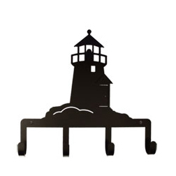 Wrought Iron Lighthouse Key Holder