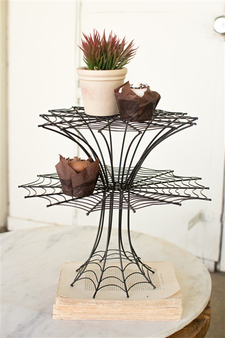 Double Spider Web Display Stand