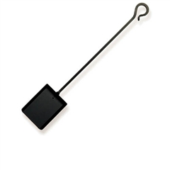 Pictured here is the Black Iron Ash Shovel from Pilgrim Home and Hearth