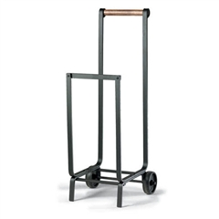 Wrought Iron Traditions Fireplace Wood Cart by Napa Forge