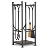 Wrought Iron Contemporary  Fireplace Hearth Center by Napa Forge