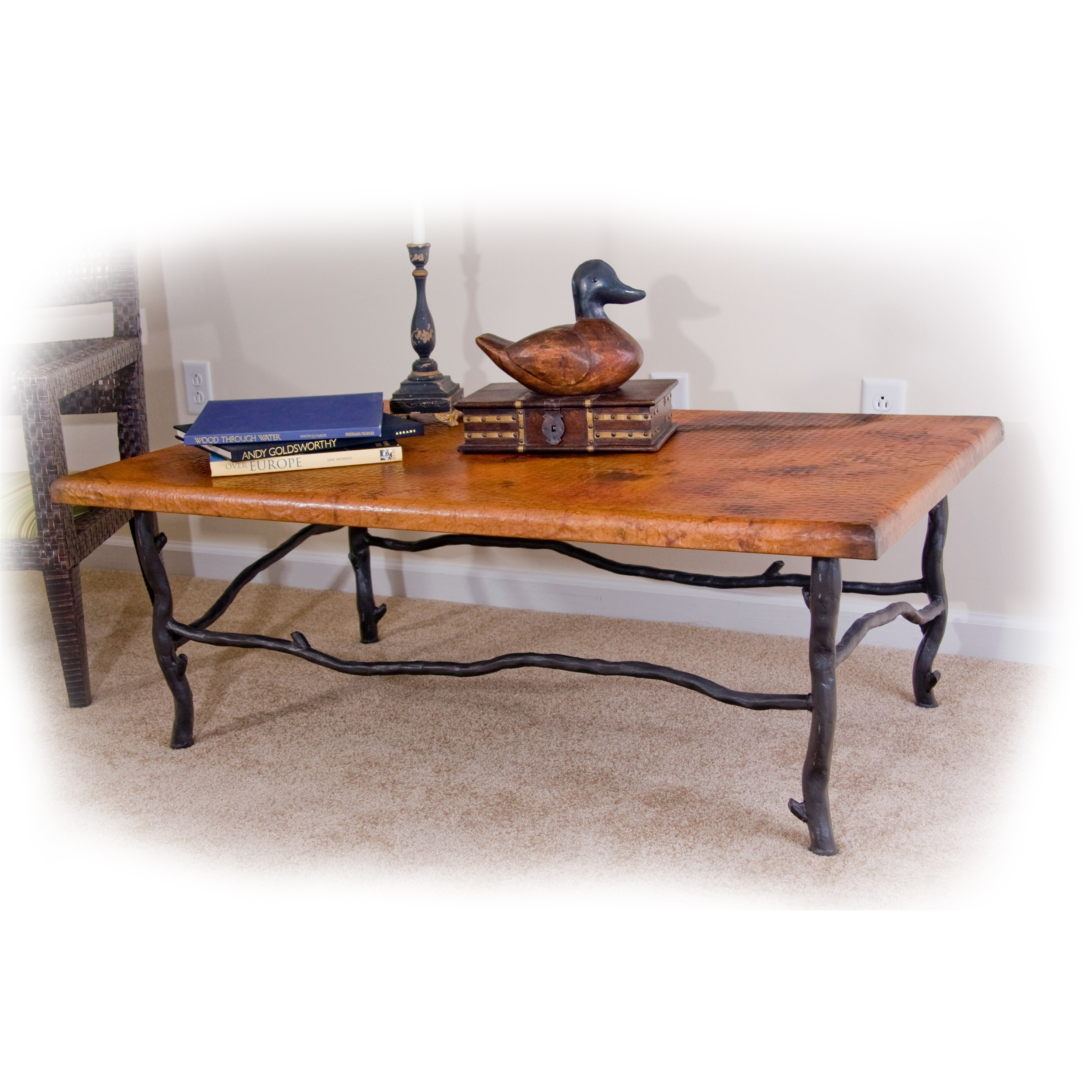 Black Coffee Table Sheffield: Rustic South Fork Cocktail Table