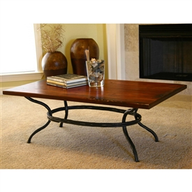 Pictured here is the Woodland Cocktail Table 50 x 30 inch Table top from Mathews and Company
