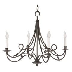 Savannah Chandelier 4-Arm