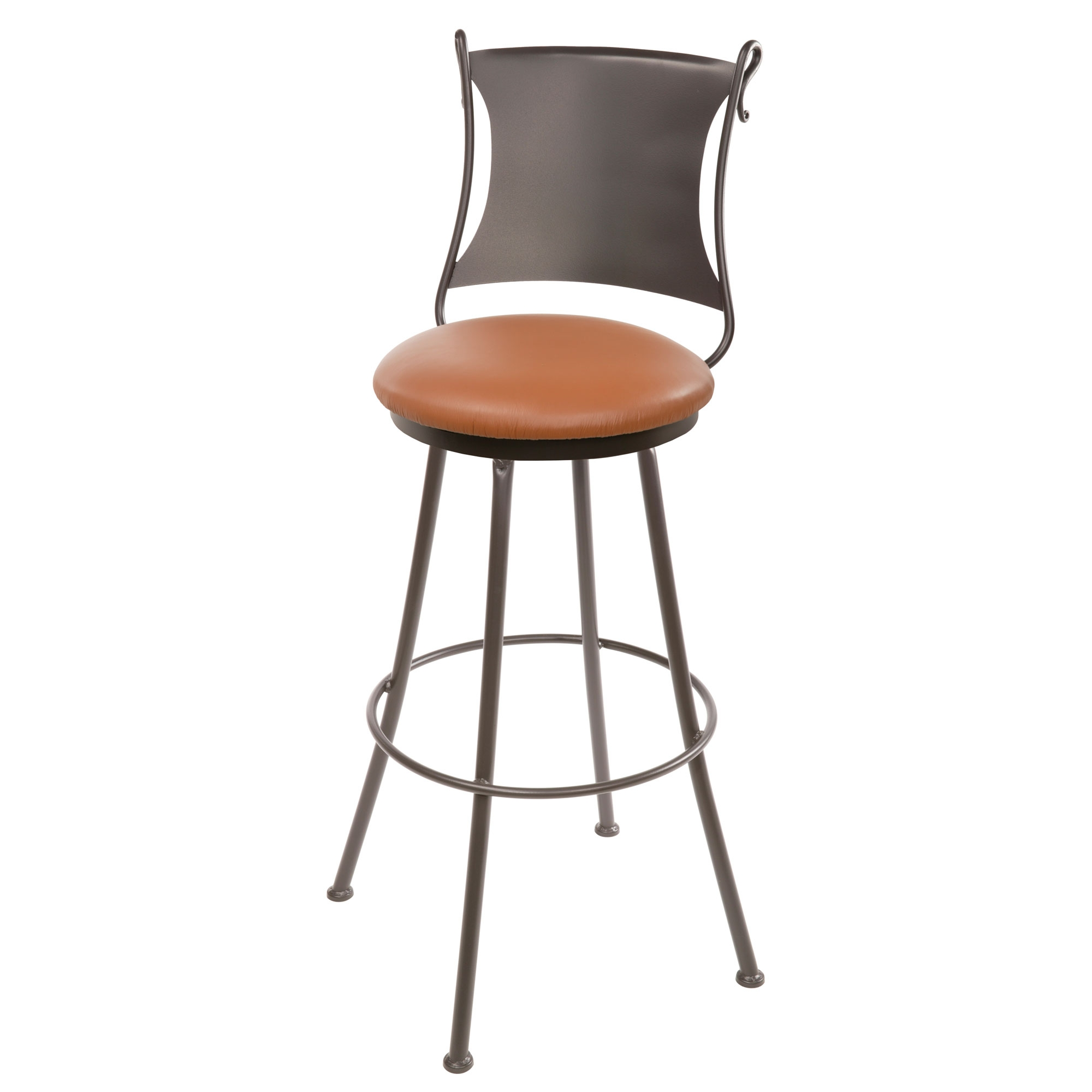 Amazing Wrought Iron Standard Counter Stool 25 Seat Height Gamerscity Chair Design For Home Gamerscityorg