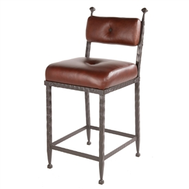 Forest Hill Barstool (padded back) 25""
