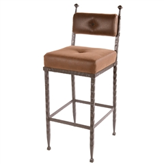 Forest Hill Barstool (padded back) 30""