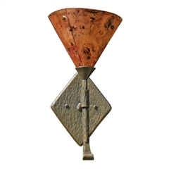 Cedarvale Wall Sconce Single w/Copper Shade
