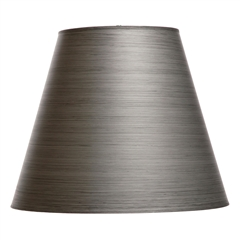 "Pewter Floor Lamp Shade 10"" x 18"" x 15"""