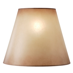 "Amber Glow Floor Lamp Shade, 10"" x 18"" x 15"""