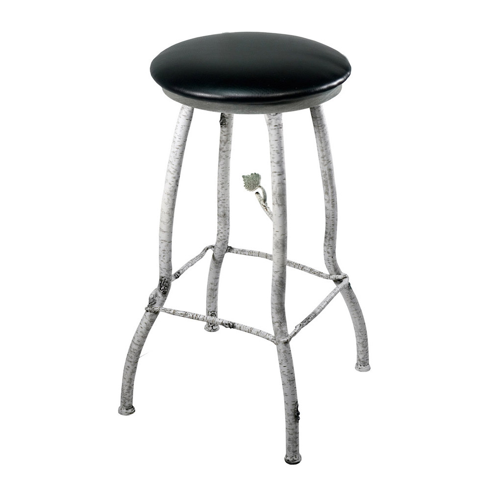 Wrought Iron Backless Counter Stool Whisper Creek Counter Stool