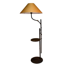 Whisper Creek Swing-Arm Chair Lamp