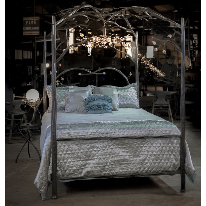 Canopy Bed.Wrought Iron Canopy Bed Forest Canopy Bed