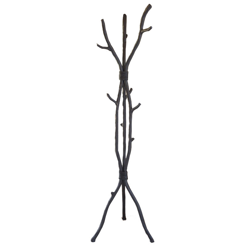 Wrought Iron South Fork Standing Coat Rack Handmade By Mathews Co Can Be Purchased