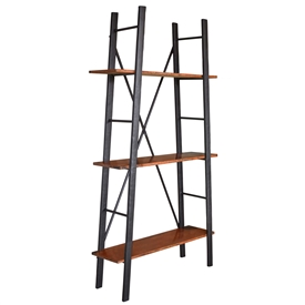 Pictured is our Ladder Shelf Unit hand-made by Mathews & Co.